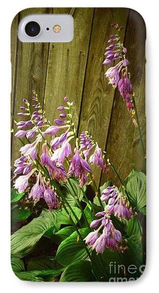 Blooming Hostas IPhone Case