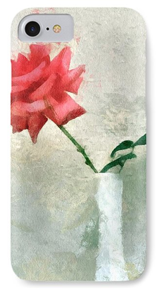 Blooming Rose IPhone Case by Patricia Strand