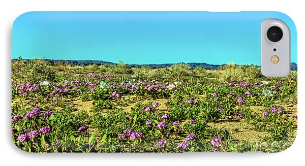 IPhone Case featuring the photograph Blooming Sand Verbena by Robert Bales