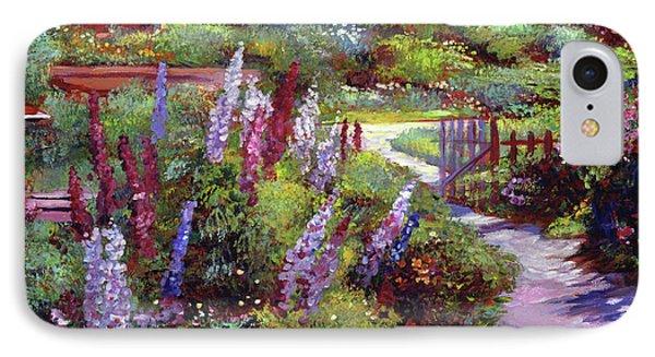 Blooming Splendor IPhone Case by David Lloyd Glover