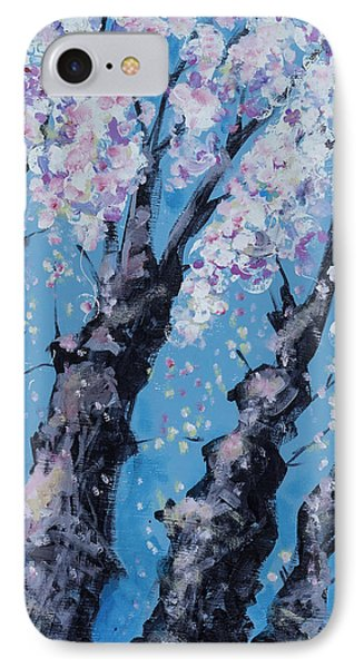 Blooming Trees IPhone Case by Maxim Komissarchik