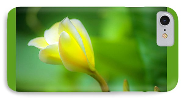 Blooming Yellow IPhone Case by Marvin Spates