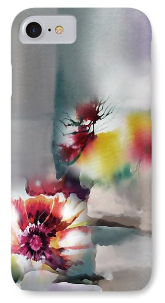 Blooms R IPhone Case by Anil Nene