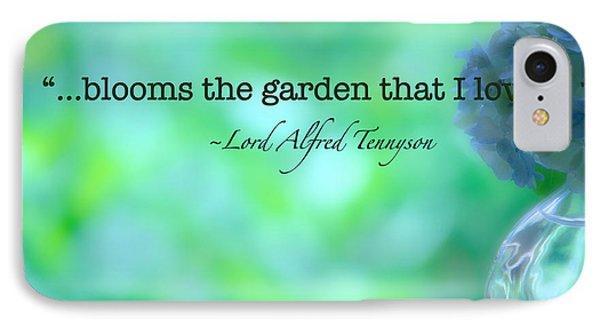 Blooms The Garden Phone Case by Bonnie Bruno