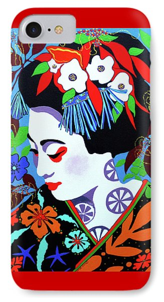 Blossom IPhone Case by Debbie Chamberlin