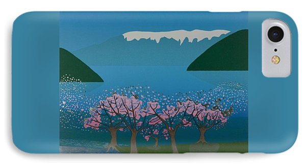 Blossom In The Hardanger Fjord Phone Case by Jarle Rosseland