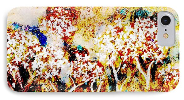 IPhone Case featuring the painting Blossom Morning by Winsome Gunning