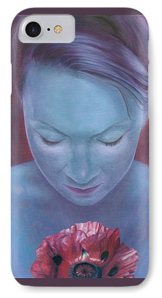 IPhone Case featuring the painting Blossom by Ragen Mendenhall
