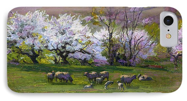 Blossom Time IPhone Case by Edward Henry Potthast