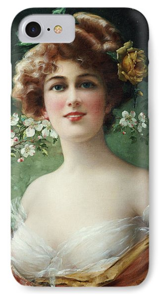 Blossoming Beauty Phone Case by Emile Vernon
