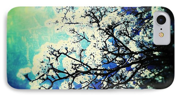 Blossoming IPhone Case by Christine Paris