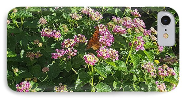 Blossoms And Wings #2 IPhone Case by Rachel Hannah