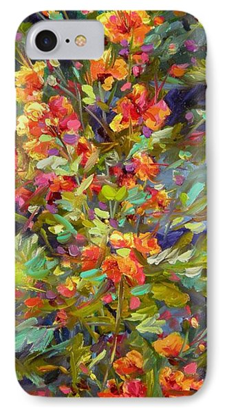 IPhone Case featuring the painting Blossoms Of Hope by Chris Brandley