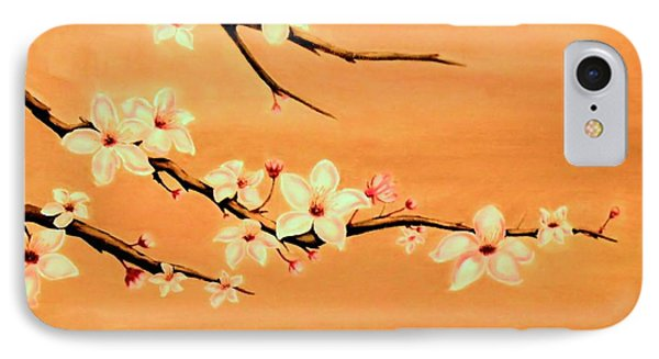 Blossoms On A Branch IPhone Case