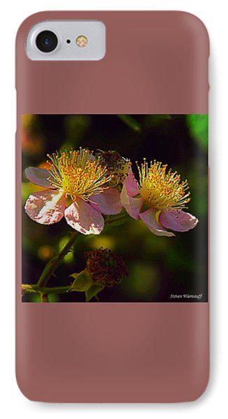 Blossoms.1 IPhone Case by Steve Warnstaff