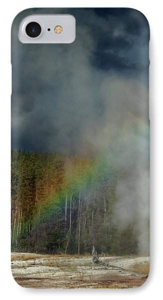 Blow Hole Rainbow IPhone Case