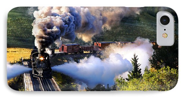 IPhone Case featuring the photograph Blowdown On Lobato Trestle by Ken Smith