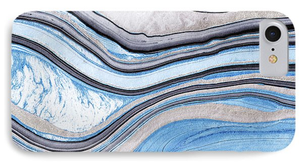 Blue Abstract Art - Water And Sky - Sharon Cummings IPhone Case