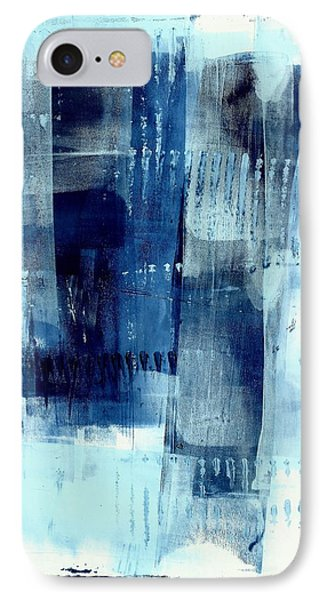 Blue Abstract I IPhone Case