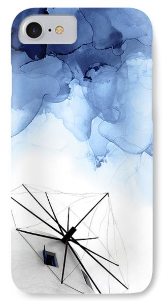 Simple iPhone 7 Case - Stormy Weather II by PrintsProject