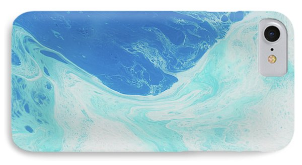 IPhone Case featuring the painting Blue Abyss by Nikki Marie Smith