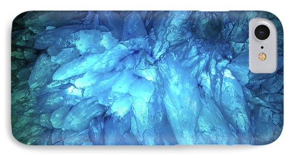 IPhone Case featuring the photograph Blue Agate by Nicholas Burningham