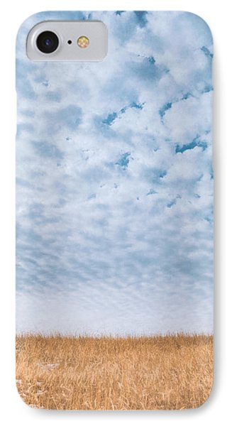 Blue And Amber IPhone Case by Scott Norris