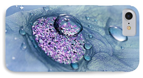 Blue And Purple Abstract IPhone Case