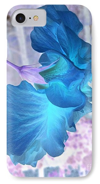 Blue Angel  IPhone Case by Cathy Dee Janes