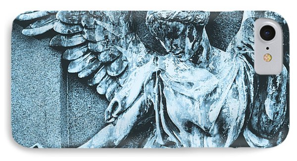 Blue Angel IPhone Case by Colleen Kammerer