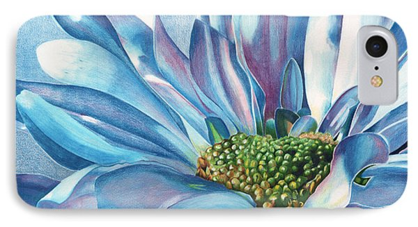 IPhone Case featuring the painting Blue by Angela Armano
