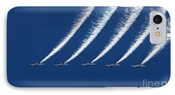 Blue Angels Formation IPhone Case by John A Rodriguez