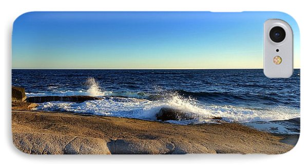 Blue Atlantic IPhone Case by Heather Vopni