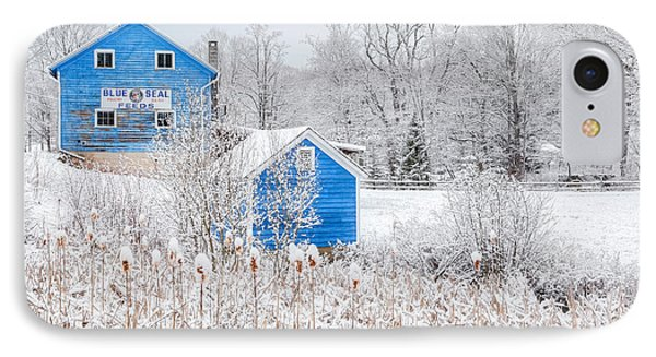 Blue Barns IPhone Case by Bill Wakeley