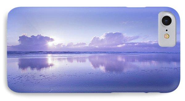 Blue Beach IPhone Case by Masako Metz