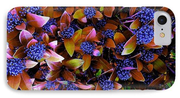 Blue Berries IPhone Case
