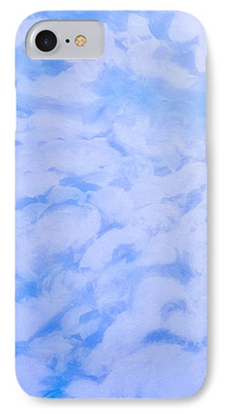 Blue  IPhone Case by Heather  Hiland