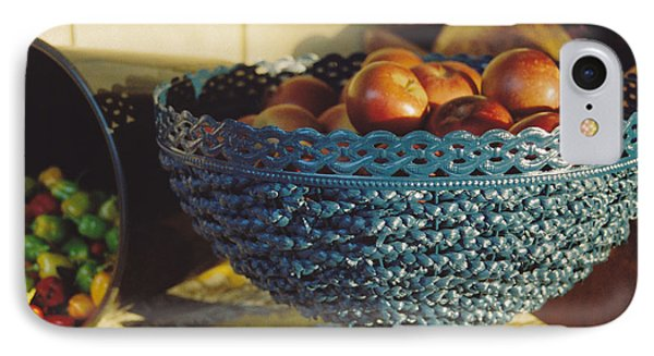 Blue Bowl Phone Case by Jan Amiss Photography