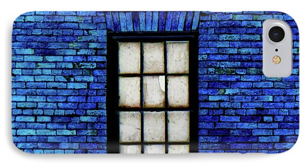 IPhone Case featuring the digital art Blue Brick by Robert Geary