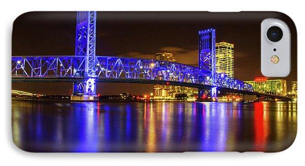 IPhone Case featuring the photograph Blue Bridge 3 by Arthur Dodd