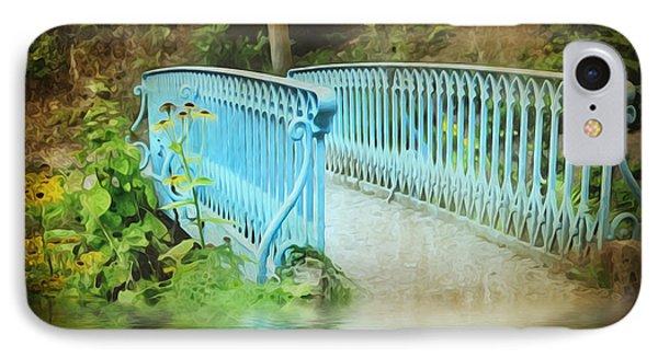 Blue Bridge Phone Case by Svetlana Sewell