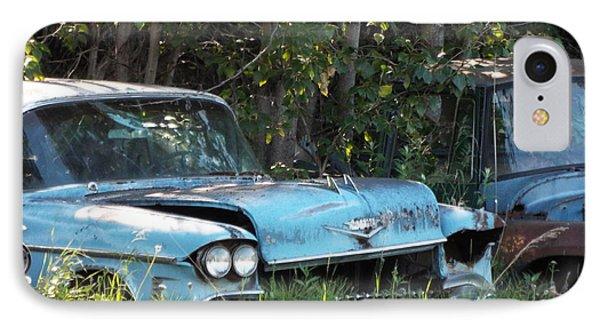 Blue Cadillac IPhone Case