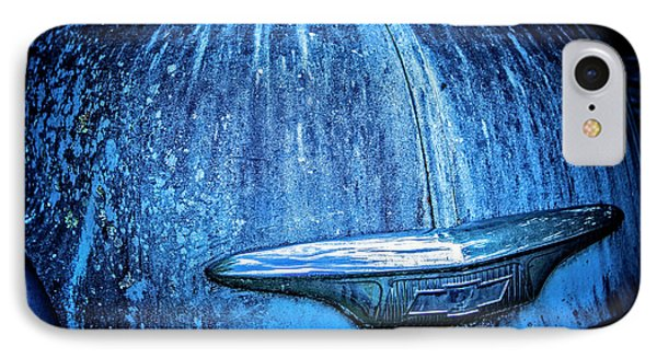 Blue Chevy IPhone Case