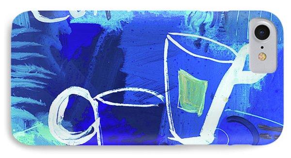 Blue Coffee IPhone Case