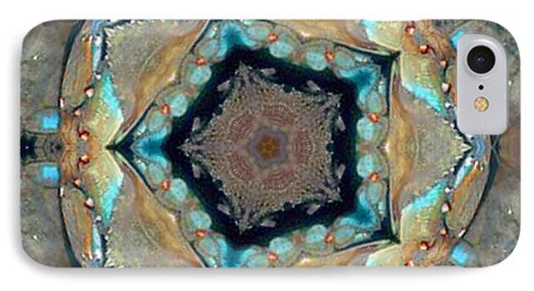 IPhone Case featuring the photograph Blue Crab Kaleidoscope by Bill Barber