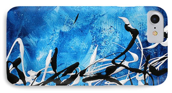 Blue Divinity II By Madart Phone Case by Megan Duncanson