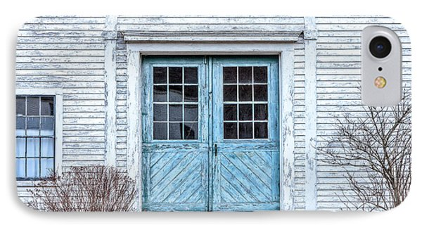 Blue Doors IPhone Case by Susan Cole Kelly
