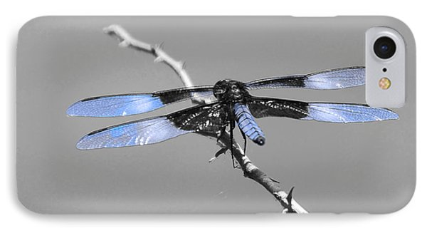 IPhone Case featuring the photograph Blue Dragon by Cindy Manero