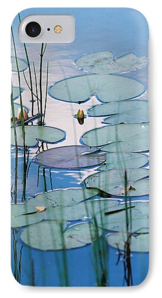 IPhone Case featuring the photograph Blue Dreams by Doris Potter