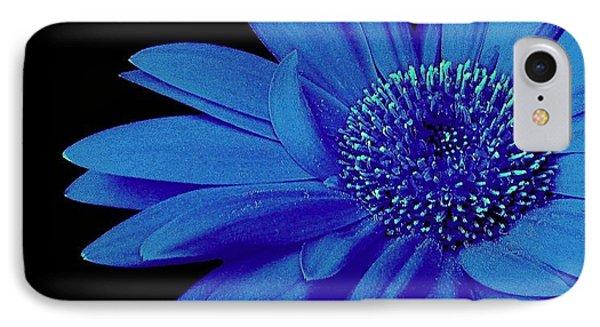 Blue Phone Case by Elfriede Fulda